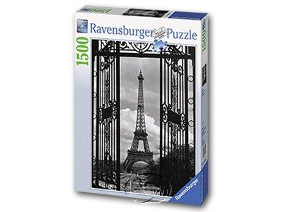【Ravensburger拼圖-1500片】欄幕中的巴黎鐵塔In Paris