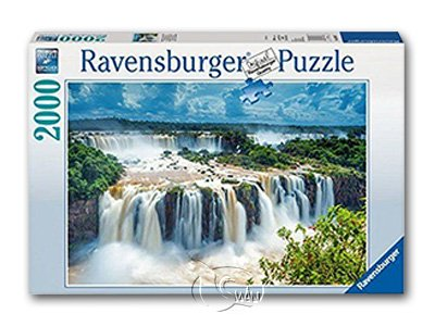 【Ravensburger拼圖-2000片】壯麗的水瀑Waterfall