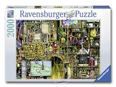 【Ravensburger拼圖-2000片】科林湯普森:瘋狂實驗室Crazy Laboratory