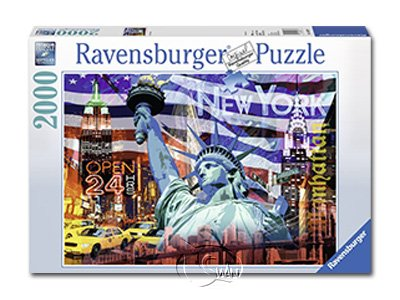 【Ravensburger拼圖-2000片】紐約拼貼畫New York Collage