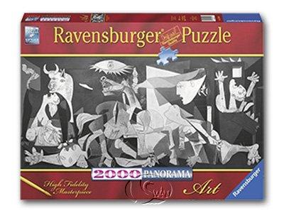 【Ravensburger-全景拼圖-2000片】巴勃羅·畢卡索:格爾尼卡Pablo Picasso:Guernica