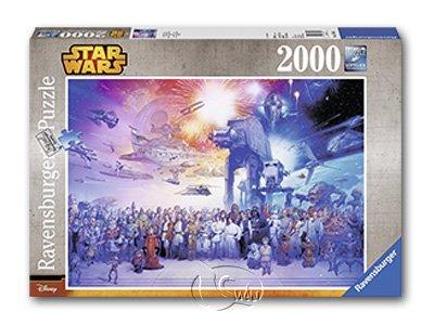 【Ravensburger拼圖-2000片】星際大戰:角色集錦SW: Star Wars Universum