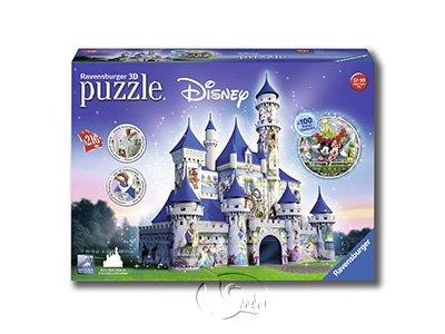 【Ravensburger-3D立體拼圖-216片】迪士尼城堡Disney Castle