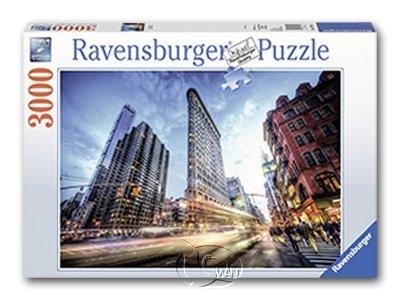 【Ravensburger拼圖-3000片】紐約熨斗大廈Flat Iron Building