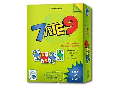 數字急轉彎 7 Ate 9-英泰中文版
