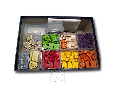 配件收納組合 - 神秘大地大盒版 適用--21件組--Sx7+Mx11+Lx2+卡盒S