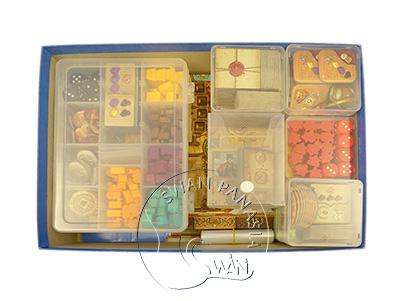 配件收納組合 - 馬可波羅 II 可汗的託付 適用-9件組-Sx4+Mx2+L+24隔盒+卡盒L