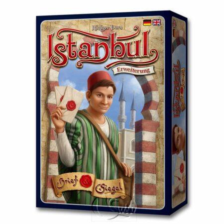 伊斯坦堡:信件與封印擴充 Istanbul Letters and Seals-德英文版 (另附全彩中文說明書)