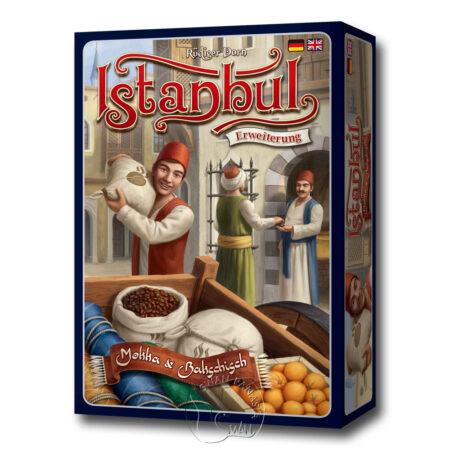 伊斯坦堡:咖啡與小費擴充 Istanbul Mocha and Baksheesh-英德文版(另附全彩中文說明書)