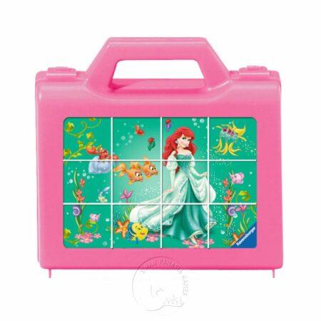 【Ravensburger-3D立體拼圖-12片】迪士尼:公主方塊拼Disney Princess Cube