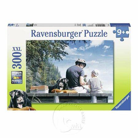 【Ravensburger-大拼片拼圖-300XXL片】釣魚時光Fishing days