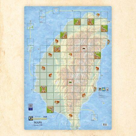 卡卡頌地圖擴充台灣 CARCASSONNE MAP EX. TAIWAN(11/01上市!)