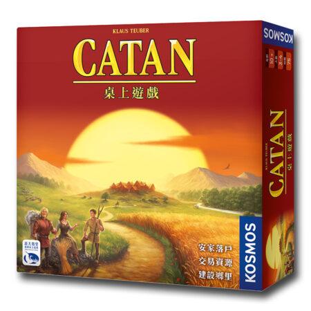 卡坦島 Die Siedler von Catan-中文版