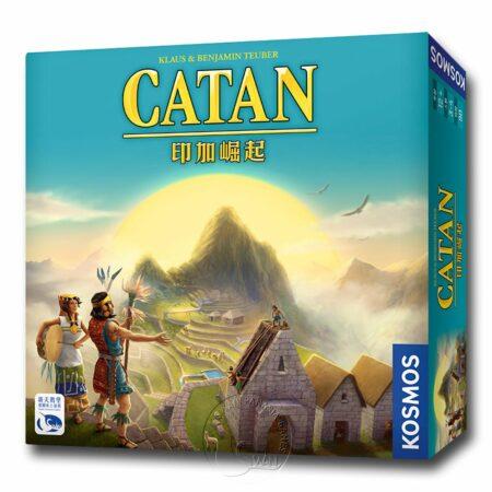 【09/29-09/30快閃特價】卡坦島印加崛起 Catan Inka-中文版