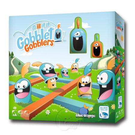 奇雞連連塑質版 Gobblet Gobblers Plastic-中文版